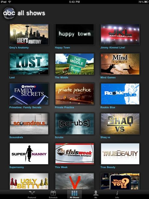 [Review: App] ABC Player for iPad P_1024_768_1b7033a1-e790-4b9a-a8d7-9844d71f0b68